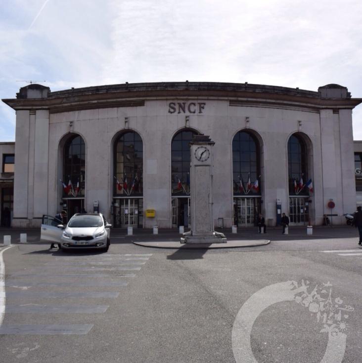 estação trem Versailles