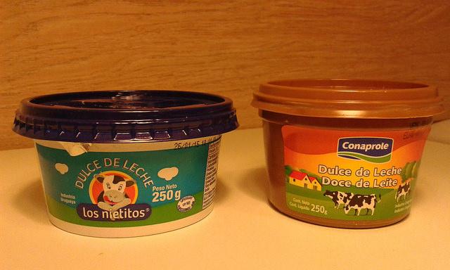 Doce de leite uruguaio